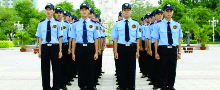 May đồng phục bảo vệ tại quận 10