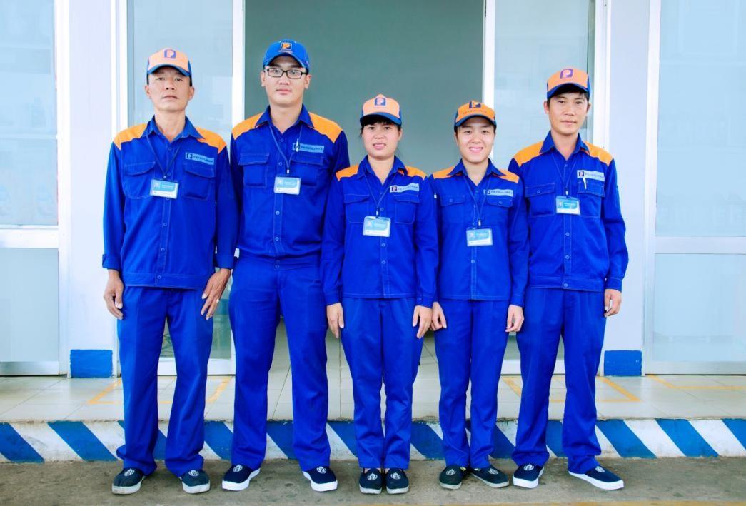 May đồng phục bảo hộ lao động cao cấp tại quận Phú Nhuận