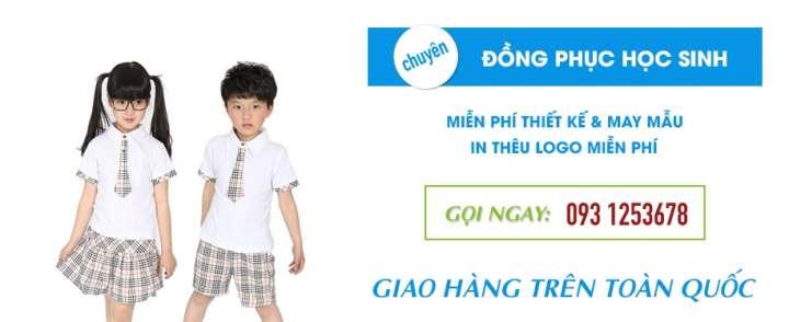 May đồng phục học sinh cao cấp tại Phú Nhuận