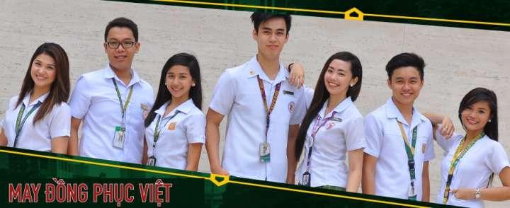 May đồng phục học sinh cao cấp tại Bình Tân