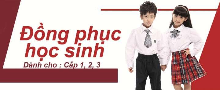 May đồng phục học sinh tại Long An