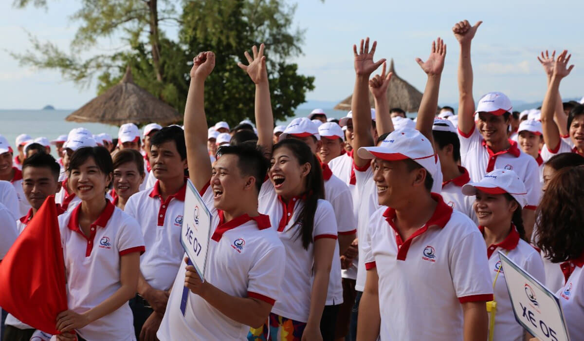 May áo thun đồng phục cổ trụ tại quận Tân Phú