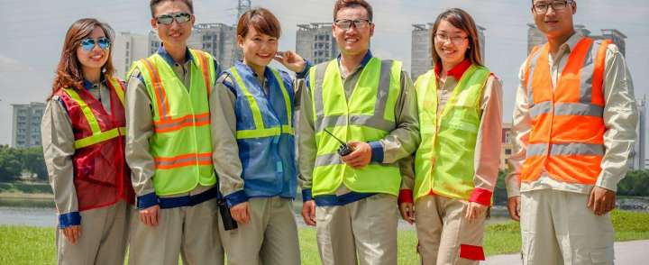 May đồng phục bảo hộ chất lượng tại quận Thủ Đức