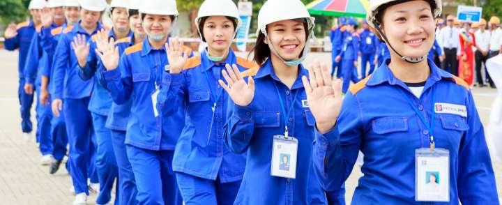 Xưởng may đồng phục bảo hộ giá rẻ tại Đồng Nai