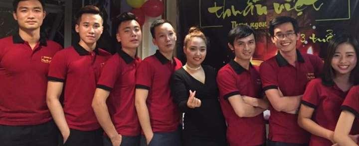 Doanh nghiệp may đồng phục áo thun cổ trụ cao cấp tại TPHCM