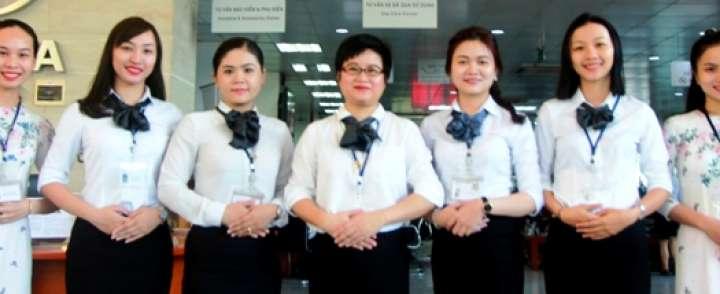 Xưởng may đồng phục sơ mi nữ chất lượng TPHCM