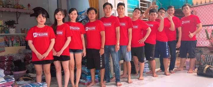 Xưởng may đồng phục áo thun chất lượng tại Đà Nẵng