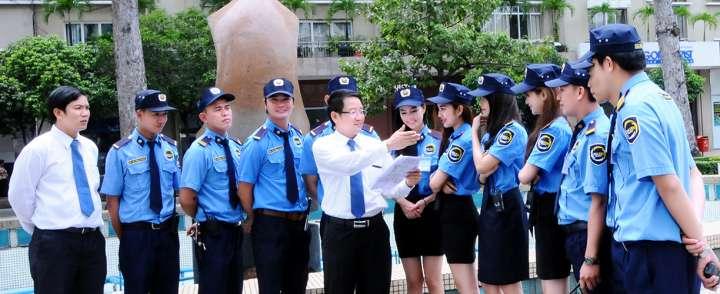 Xưởng may đồng phục bảo vệ chất lượng Đà Nẵng
