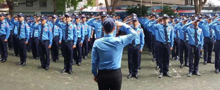 Xưởng may đồng phục bảo vệ khách sạn cao cấp