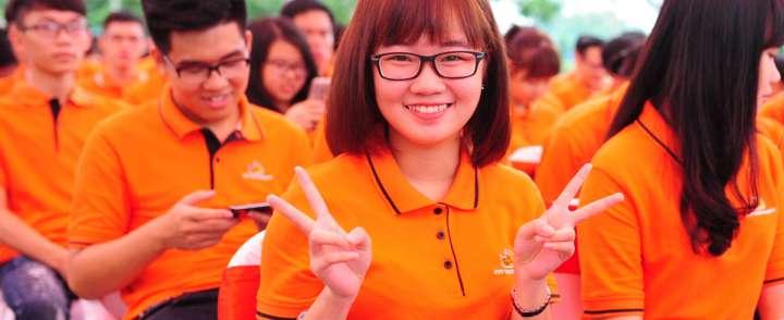 In may áo thun đồng phục giá rẻ tại Hà Nội