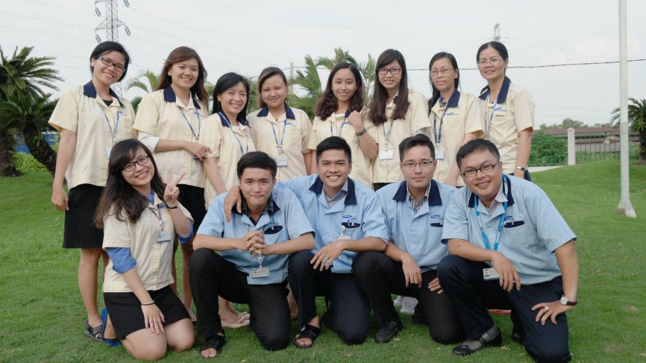 May đồng phục giá rẻ đẹp tại quận Tân Phú