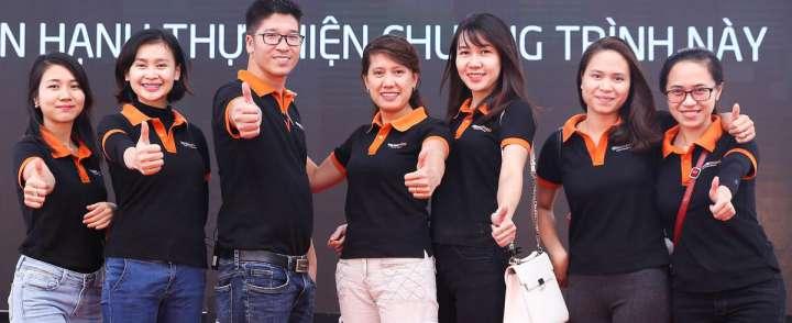 May đồng phục giá rẻ đẹp tại quận Bình Thạnh