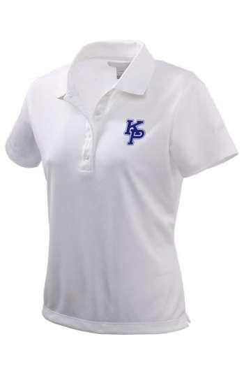 Áo thun đồng phục công ty cao cấp cổ trụ tay ngắn màu trắng