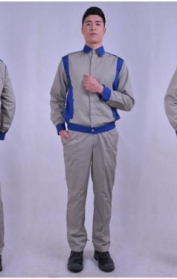 Đồng phục bảo hộ lao động công ty tay dài phối màu xám xanh