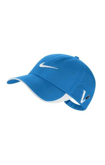 Nón kết đồng phục cao cấp màu xanh thêu logo