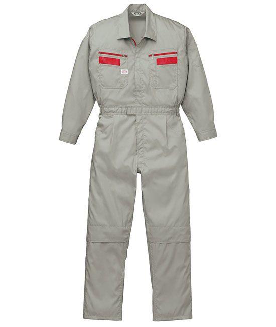 Đồng phục bảo hộ áo liền quần màu xám tay dài