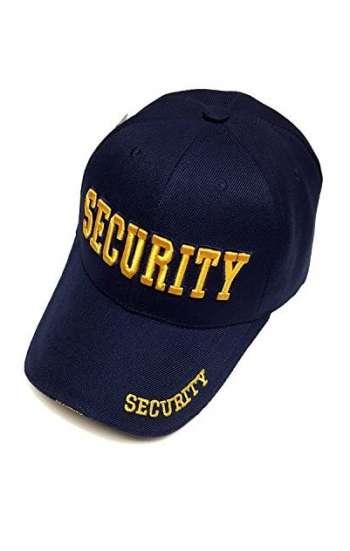 Mẫu nón đồng phục dành cho nhân viên bảo vệ logo thêu