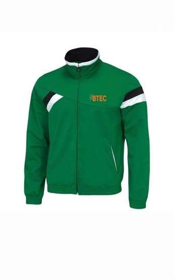 Áo khoác đồng phục màu xanh lá