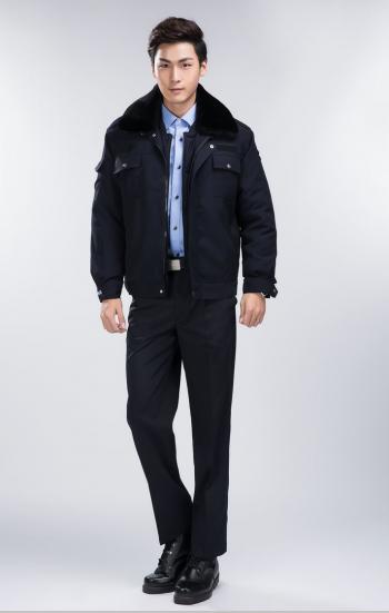 Đồng phục bảo hộ sơ mi xanh có áo khoác ngoài