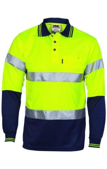 Áo đồng phục bảo hộ phản quang dài tay xanh xám