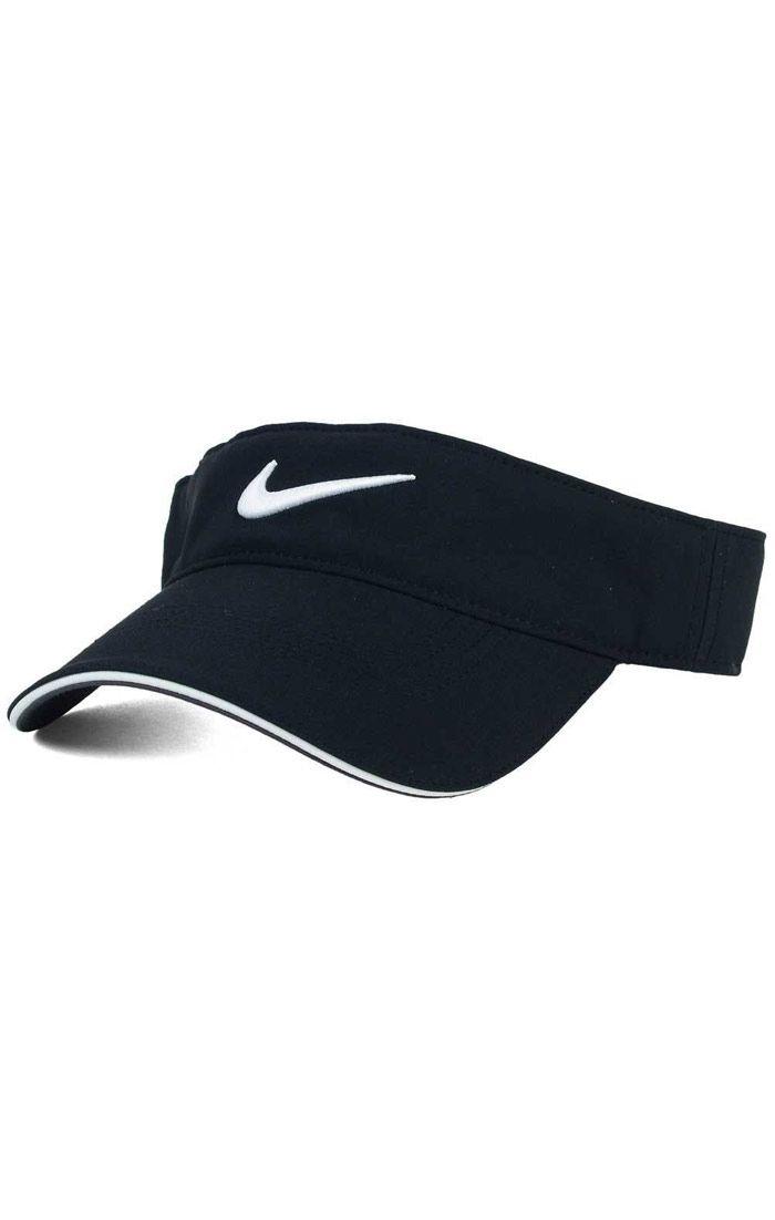 Đồng phục nón kết nửa đầu màu đen viền trắng thêu logo