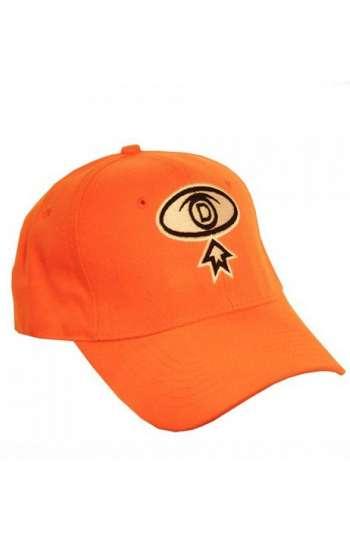 Nón kết đồng phục lưỡi trai màu cam logo thêu