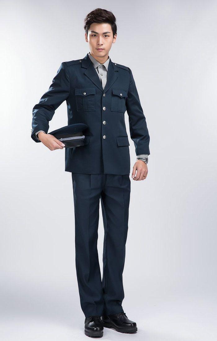 Đồng phục bảo hộ cao cấp màu xanh đen